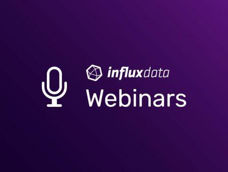 Influx data webinars image